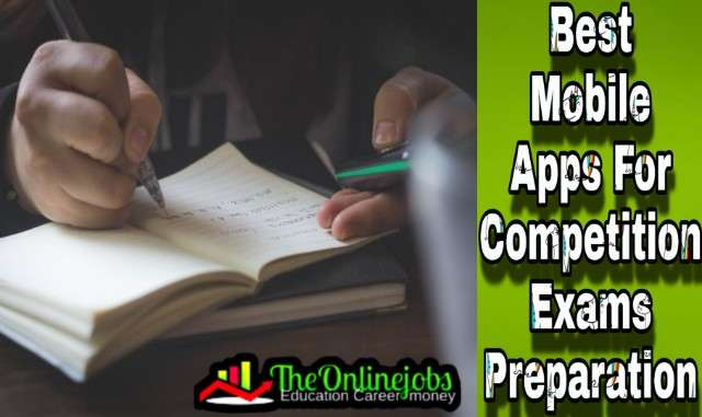 Apps for Competition Exams Preparation