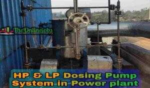 Hp and lp dosing pump system
