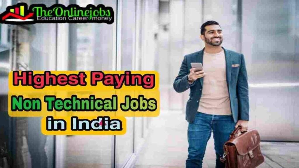 Non technical jobs in india